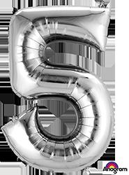 27985 #5 Silver Super Shape