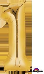 28244 #1 Gold Super Shape