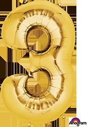 28248 #3 Gold Super Shape