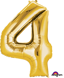 28250 #4 Gold Super Shape