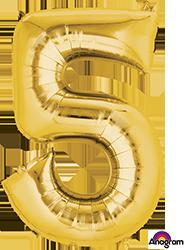 28252 #5 Gold Super Shape