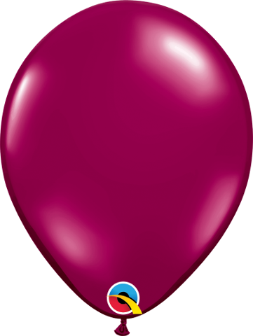 "43739 Sparkling Burgundy Jewel 11"" latex"