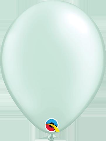 """43781 Pearl Mint Green 11"""" Latex"""