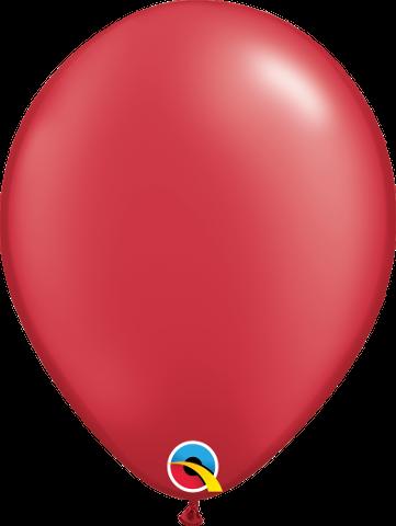 "43785 Pearl Ruby Red 11"" Latex"