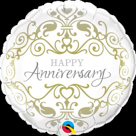 Anniversary Classic Mylar Balloon