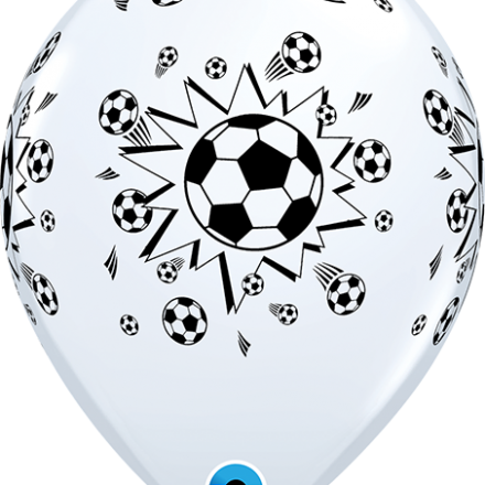 11755 Soccer Balls latex balloon