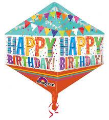 Happy Birthday Anglez Mylar Balloon