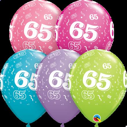 46704 #65 trendy assortment latex balloon