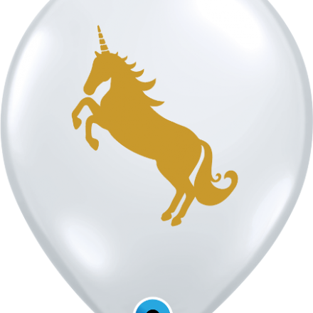 57435 Unicorn latex balloon