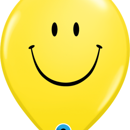 85986 Smile Face latex balloon