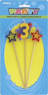 """#3 Pick Candle 7"""""""